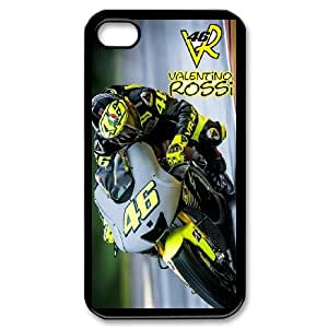 Valentino Rossi 46 For iPhone 4 4s Custom Cell Phone Case Cover 99II918277