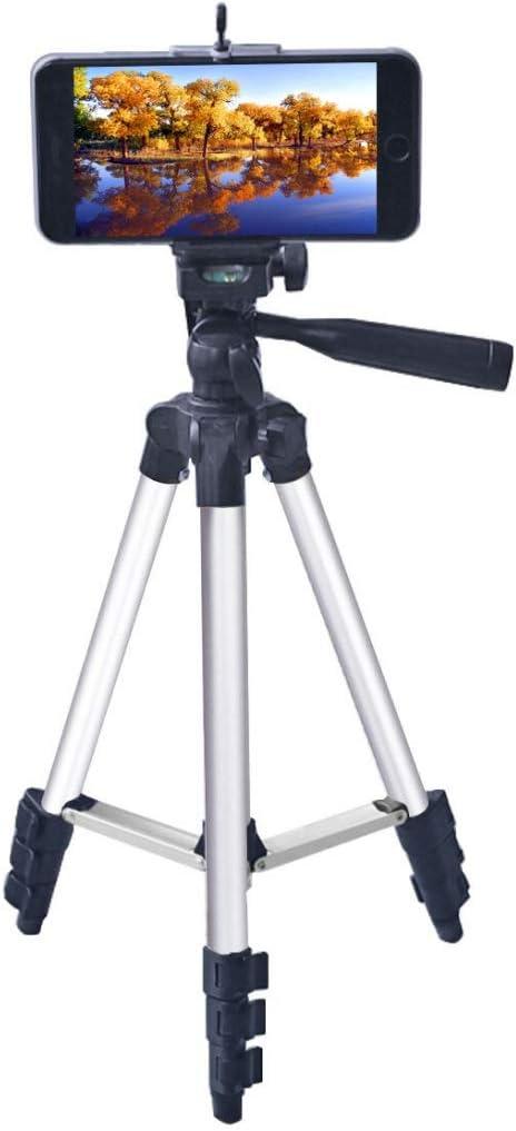 Adjustable Height 35-106cm Durable GuiPing Live Broadcast Tripod 4-Section Folding Legs Aluminum Alloy Tripod Mount with U-Shape Three-Dimensional Tripod Head for DSLR /& Digital Camera