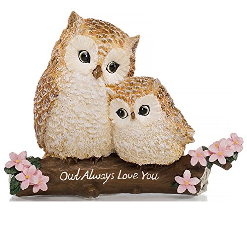 The Hamilton Collection Owl Figurine: Owl Always Love You