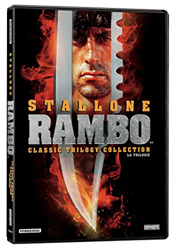 The Rambo Classic Trilogy Collection (Rambo: First Blood / Rambo: First Blood Part 2 / Rambo 3)
