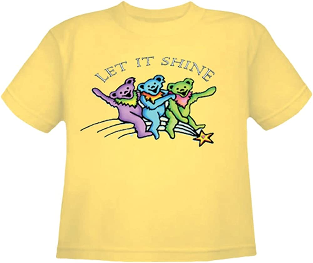 Grateful Dead Toddler Let It Shine Shirt by Dye The Sky