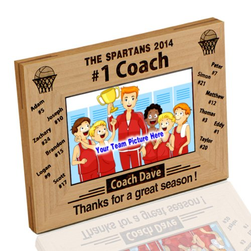 Basketball Photo Frame Award - Thanh 39 Personalized Gifts '#1 Basketball Coach' Photo Frame 5