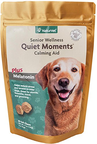 Quiet Moments By The Fireplace: Quiet Moments Calming Aid Soft Chew Supplement For Senior