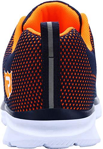 Zapatos Puntera Trabajo Acero Y Naranja Deportiva De Calzado Seguridad 123 Hombre Azul Zapatillas Larnmern Con Lm Para Industrial xqABYPw1