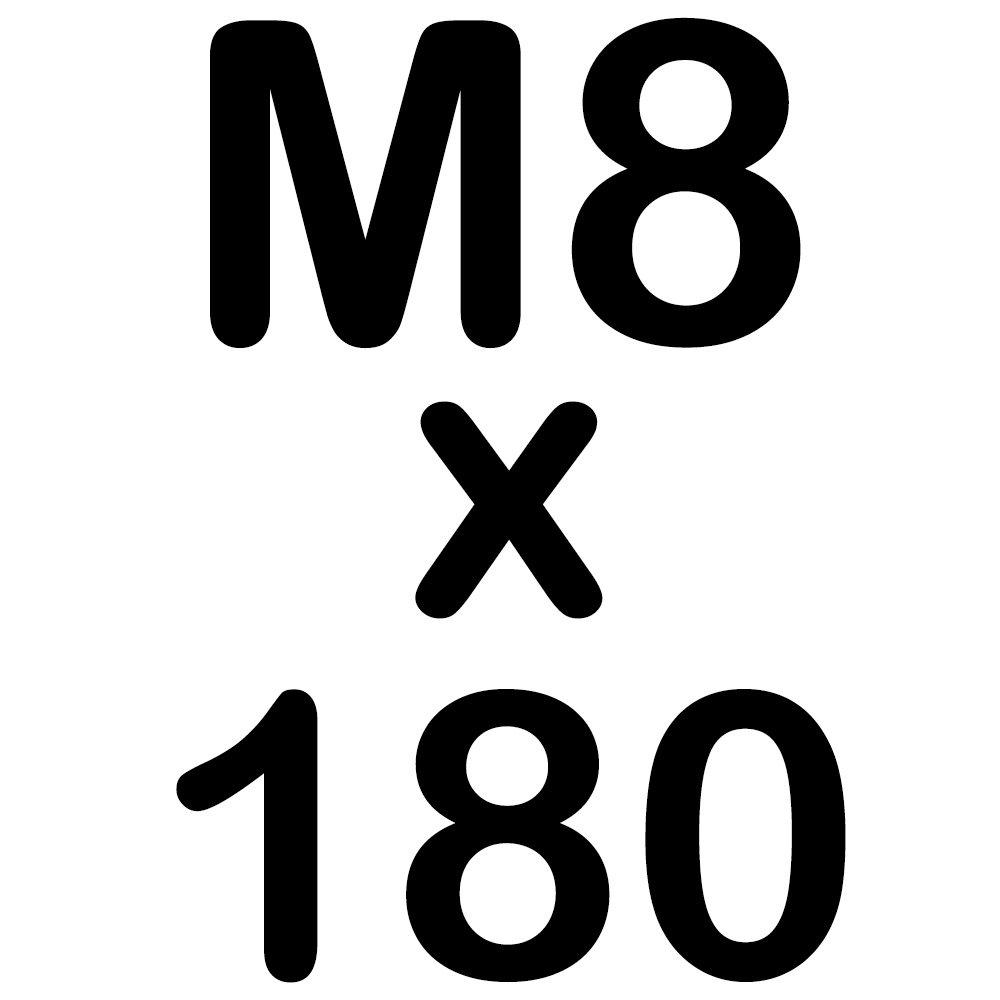 50 Sechskantschrauben Edelstahl M10 x 80 mm Vollgewindeschrauben Schrauben DIN 933 A2