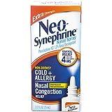 Neo-Synephrine Nasal Spray , Extra Strength Formula, 0.50 Ounces each (Value Pack of 3)
