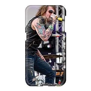 Samsung Galaxy S6 LJO6805KEpB Provide Private Custom Attractive Asking Alexandria Band Skin Shock-Absorbing Hard Phone Case -EricHowe