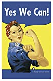 yes we can poster - Yes We Can Rosie the Riveter Masterprint 11 x 17in