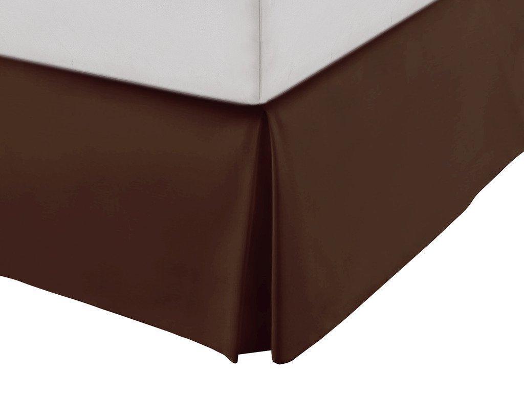 SRP寝具Real 550スレッドカウント分割コーナー用フリル付きベッドスカート/ほこり12
