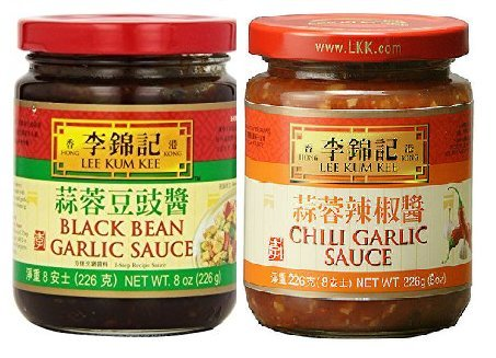 - Lee Kum Kee 2 Flavor Variety Pack - Black Bean Garlic Sauce & Chili Garlic Sauce,8 Ounce (Pack of 2)