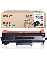 ZIPRINT MIT Chip Compatible Brother TN2420 TN-2420 para Brother HL-L2310D HL-L2350DN HL-L2370DN HL-L2375DW DCP-L2510D DCP-L2530DW MFC-L2710DN MFC-L2730DW MFC-L2750DW