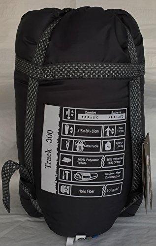 Pureland Track300 -8 C / 17 F Mummy Sleeping Bag