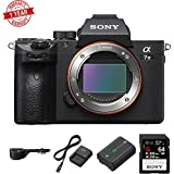 Sony Alpha a7 III Mirrorless Digital Camera USA with Grip Extension and Accessories Kit