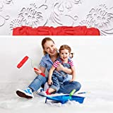 Clothful  Household Room Painting Tool Embossing Roller Paint Brush Wall Paint Tool Decora