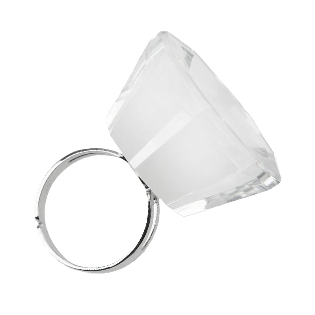 Professional Eyelash Crystal Glue Ring Finger Adhesive Eyelash Extension Generic