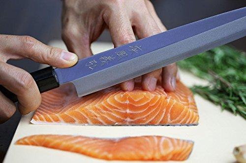 Yoshihiro VGYA300SH Stainless Hongasumi Yanagi Sushi Sashimi Japanese Chef knife, 11.8'', Rosewood by Yoshihiro (Image #6)