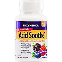 Enzymedica - Acid Soothe Chewable 30 Tablets