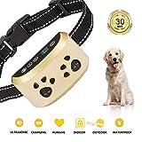 SiBeiXuan Dog Bark Collar-7Adjustable Sensitivity and Intensity Levels-Dual Anti-Barking Modes-Rechargeable-Rainproof-No...