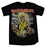Iron Maiden Killers Album Cover Rock Band T-Shirt Tee Select Shirt Size: X-Large