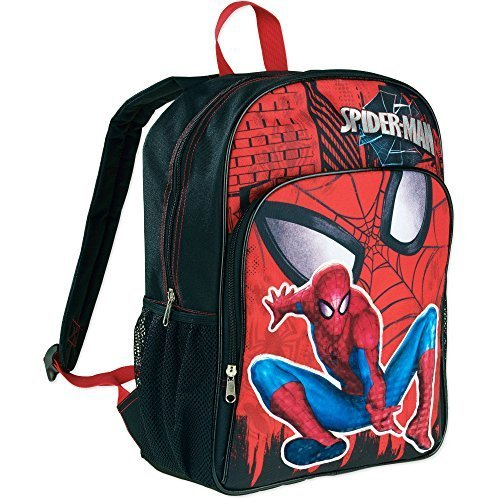 Spider-Man Bookbag (Black/Red)