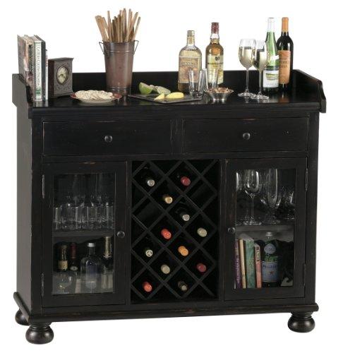 Howard Miller 695-002 Cabernet Hills Wine & Bar Console (Console Cart Bar)