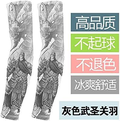 JinRui-Sport Mangas tatuadasManga de Tatuaje para Hombres, L, Gris ...