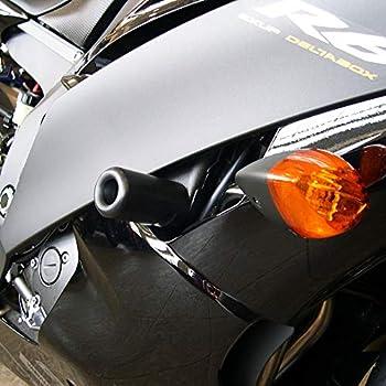 for 08-16 Yamaha YZF-R6 Black Shogun Motorsports Frame Slider Kit