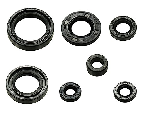 (Outlaw Racing OR3522 Engine Oil Seal Kit Yamaha YZ125 1998-2000 Motorcycle Dirtbike MXC)