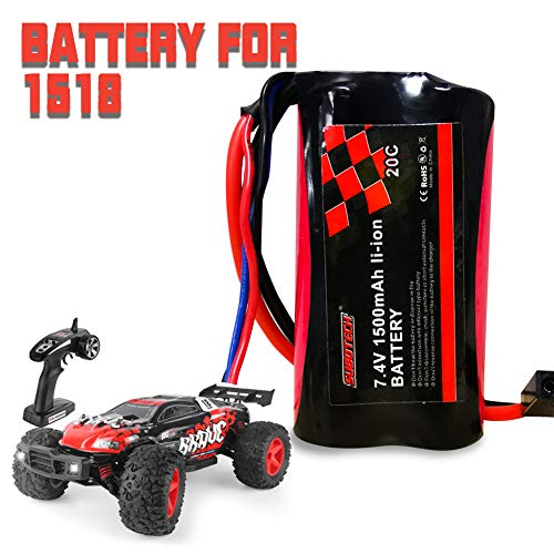 RC Car 1/12 Off Road Remote Control Car 4WD 48KM/H, HiStorm All Terrian Hobby Grade RC Monster Truck, 2.4GHz Remote Controlled Cars for Boy Girls Kids Adults, Rechargeable High Speed RC Car| Best Gift