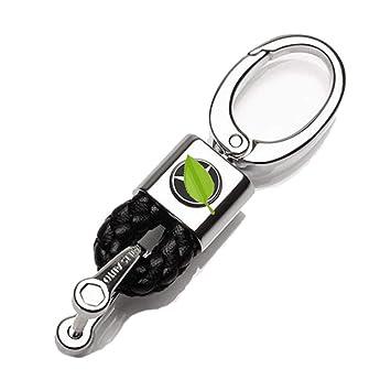 VILLSION Aleación del cinc Coche Logotipo Llavero Mercedes Benz Llave Accesorios