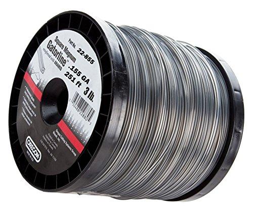 Duty Professional Magnum Gatorline Square String Trimmer Line .155-Inch Diameter 3-Pound Spool ()