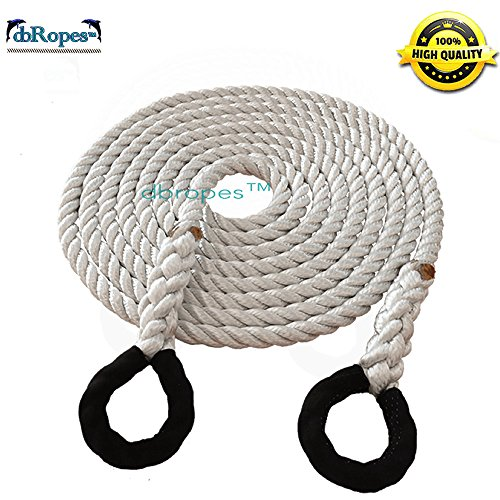 Tow Rope, Kinetic Recovery Rope, 1/2