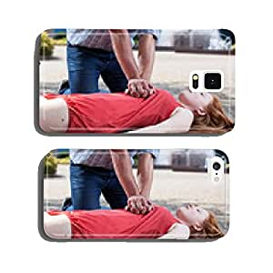 View of first aid cell phone cover case iPhone6