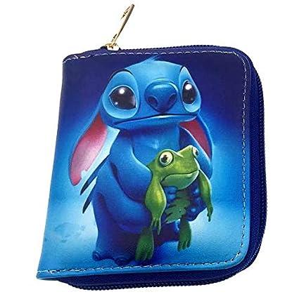 856e7724f022 Amazon.com: Kawaii Cartoon Stitch lilo Mini Wallets Zipper Poucht ...
