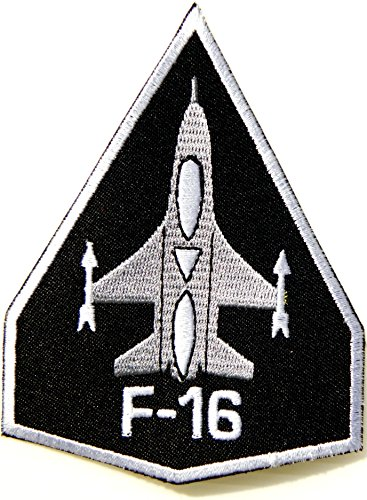 F 16 Fighting Falcon US AIR FORCE USAF United States Army Military Logo Shield Jacket Uniform Patch Sew Iron on Embroidered Sign Badge Costume