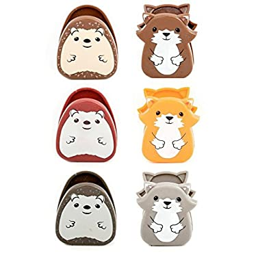 Kikkerland Woodlands Bag Clip, Set of 6