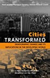 img - for By b et al cohen Cities Transformed: Demographic Change and Its Implications in the Developing World [Paperback] book / textbook / text book