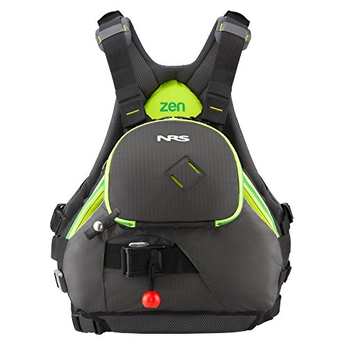 (NRS Zen Lifejacket (PFD)-Charcoal-L/XL)