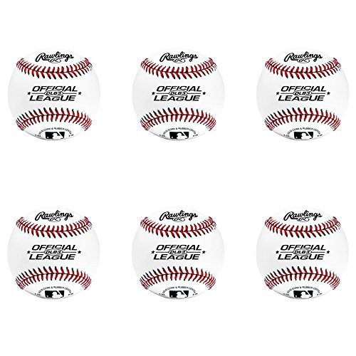 Rawlings OLB3 Official League Recreational Play Baseball (Set of 6) by Rawlings