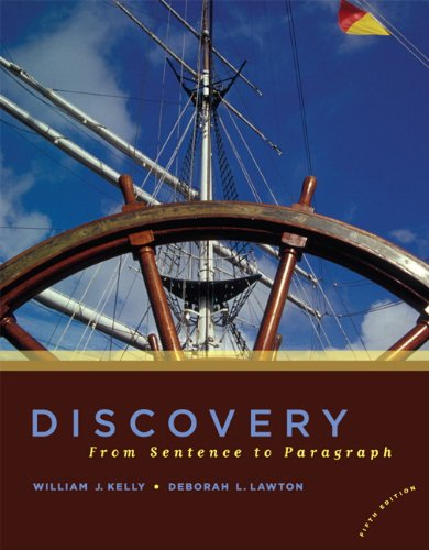 Discovery: From Sentence to Paragraph (5th Edition) by Pearson
