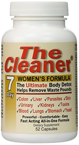 The Cleaner 7Day Women's Formula Ultimate Body Detox (52 Capsules) (Best Cleanse For Women)