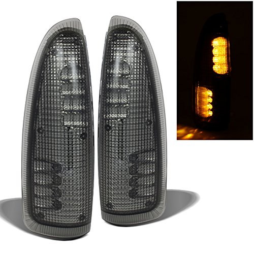 For 2003-2007 F250 F350 F450 F550 Superduty | 00-05 Excurison 2Pcs LED Smoked Lens Amber Side Mirror Lights