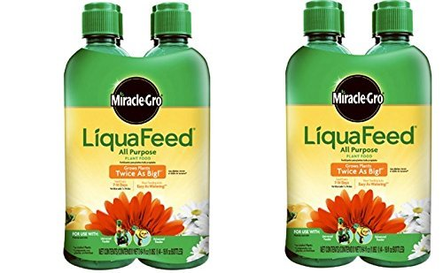 Refills Plant Food (MiracleGro LiquaFeed All Purpose Plant Food Refill Pack, (Liquid Plant Fertilizer) 16 oz. (8 Count))