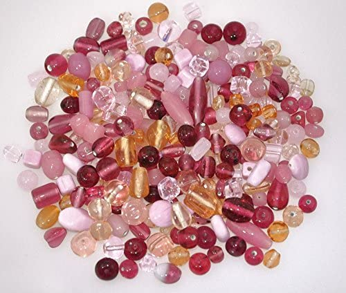 Playbox 200g Glass Beads Pink