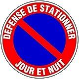 """Panneau signalétique stationnement interdit """"jour et nuit ..."""