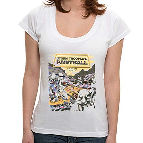Camiseta Troopers Paintball - Feminino 7Q45 - Camiseta Troopers Paintball - Feminina - G