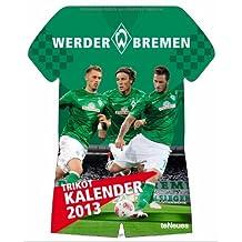 Werder Bremen Trikotkalender 2013