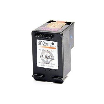 Cartucho DE Tinta Premium 302XL Negro REMANUFACTURADO para ...