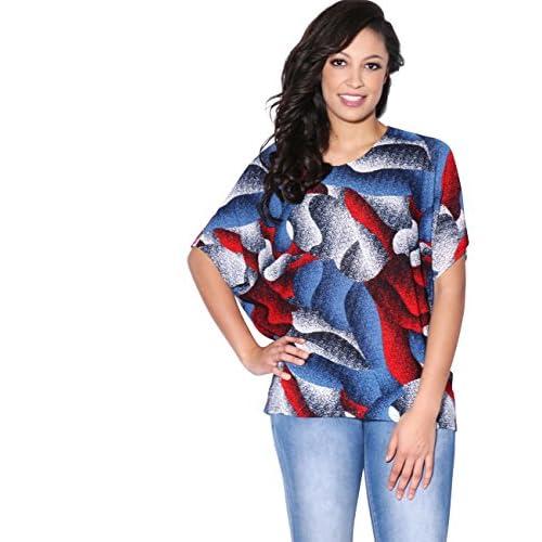 Elegante Manga Corta Camiseta Asimétrica Modeling Krisp Mujer Top Ancha Vestir Durable T6xgEIwqE