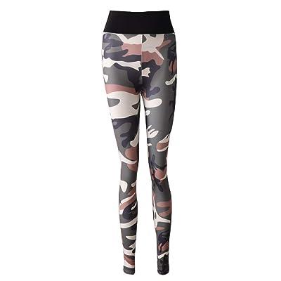 HaiDean Leggings Deportivos De Mujer Camuflaje Deportivos De Pantalones Entrenamiento Entrenamiento Modernas Casual Físico Pantalones Pantalones De Yoga Pantalones Elásticos Pantalones De Jogging: Ropa y accesorios